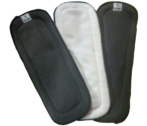 Easy Feel 5-Layer Bamboo Charcoal & Bamboo Cotton Cloth Diaper Insert (Single Piece Pack)