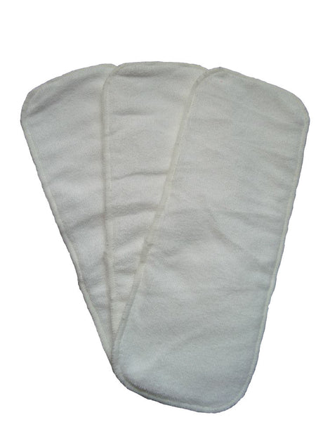 Easy Feel 3-Layer Microfiber Cloth Diaper Insert (Single Piece Pack)