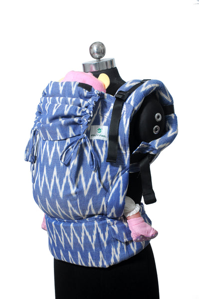 Easy Feel Full Buckle Ergonomic Wrap Converted Soft Structured Carrier (Toddler Size) - Indraneel