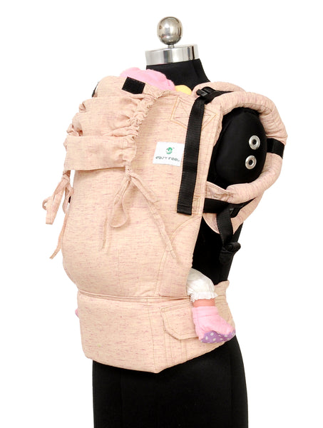 Easy Feel Full Buckle Ergonomic Soft Structured Carrier (Standard Size) - Lavender