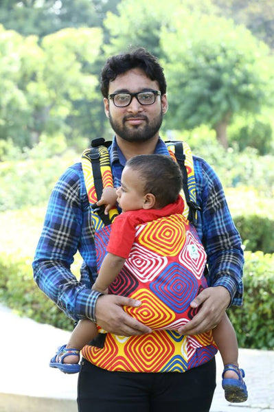 Easy Feel Full Buckle Ergonomic Soft Structured Carrier (Toddler Size) - SECONDS