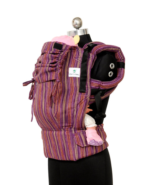 Easy Feel Full Buckle Ergonomic Soft Structured Carrier (Toddler Size) - Mulberry