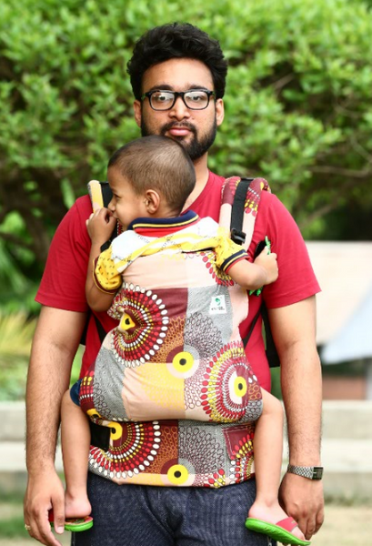 Easy Feel Full Buckle Ergonomic Soft Structured Carrier (Standard Size) - SECONDS