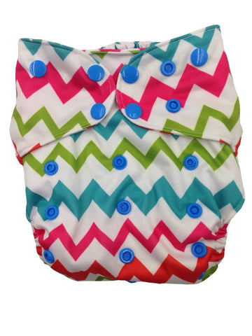 Double Gusset Suede Pocket Diapers