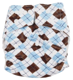 Easy Feel Printed PUL Single Gusset Microfleece Pocket Cloth Diaper (Without Insert)