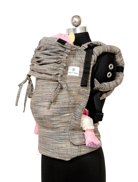 Easy Feel Full Buckle Ergonomic Soft Structured Carrier (Standard Size) - Pebble