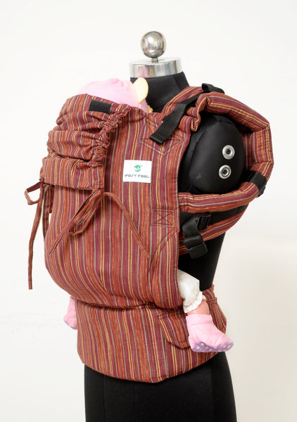 Easy Feel Full Buckle Ergonomic Soft Structured Carrier (Toddler Size) - Pecan