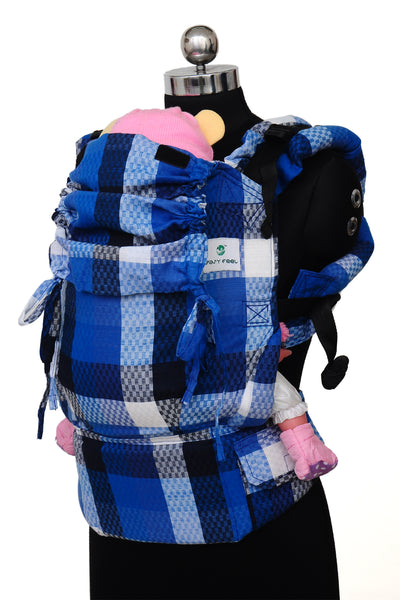 Easy Feel Full Buckle Ergonomic Soft Structured Carrier (Standard Size) - Pristine