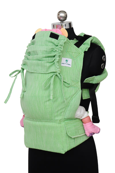 Easy Feel Full Buckle Ergonomic Soft Structured Carrier (Standard Size) - Sage