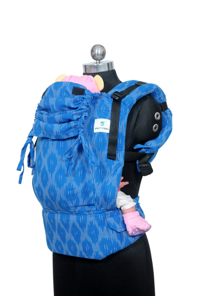 Easy Feel Full Buckle Ergonomic Wrap Converted Soft Structured Carrier (Toddler Size) - Saltwater