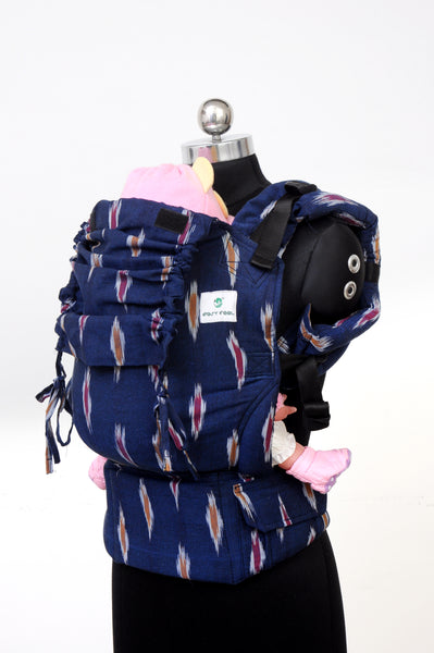 Easy Feel Full Buckle Ergonomic Wrap Converted Soft Structured Carrier (Toddler Size) - Splendor