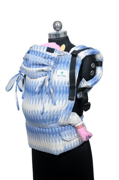 Easy Feel Full Buckle Ergonomic Wrap Converted Soft Structured Carrier (Standard Size) - Stratus