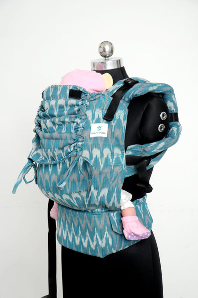 Ikat Cotton Standard Full Buckle - Teal