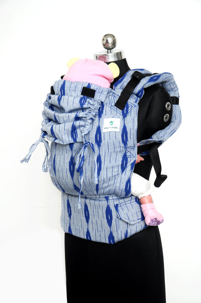 Easy Feel Full Buckle Ergonomic Wrap Converted Soft Structured Carrier (Toddler Size) - Ultramarine