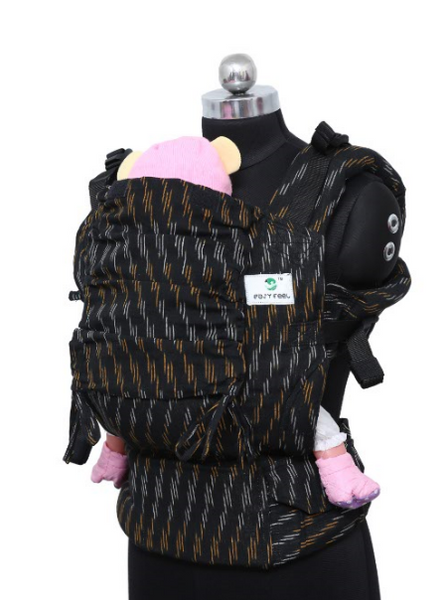 Easy Feel Full Buckle Ergonomic Wrap Converted Soft Structured Carrier (Toddler Size)