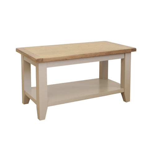 Fairstead Grey Painted Coffee Table - Small
