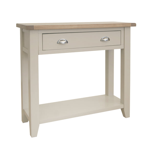 Fairstead Grey Painted Console Table