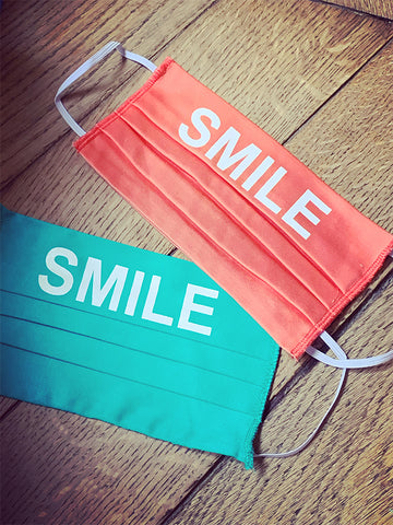 MASQUES SMILE FREE & LOVE. ( FDP INCLUS )