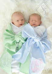 Miller Collection Baby Swaddle Blanket