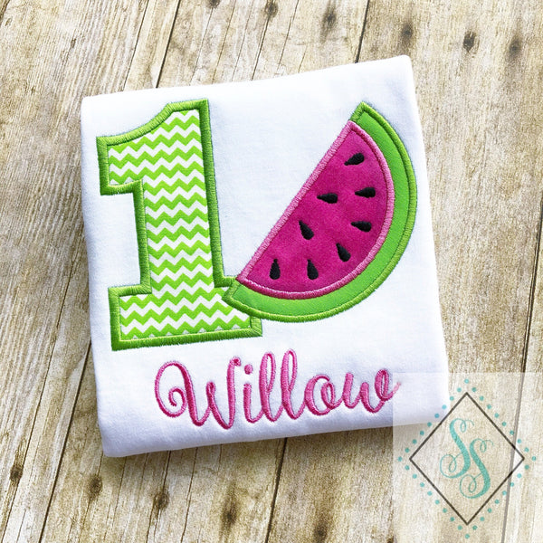 Watermelon Birthday Shirt