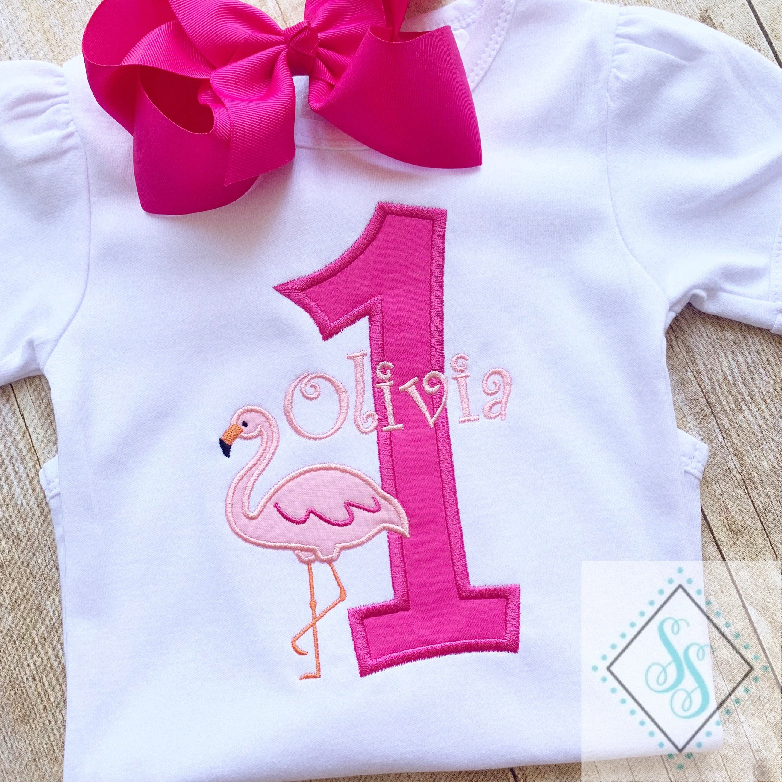 Flamingo Birthday Shirt