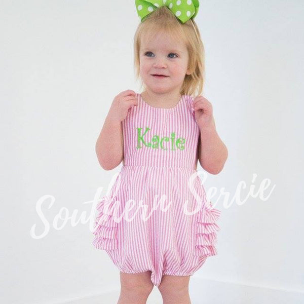 Girl's Ruffle Sunsuit