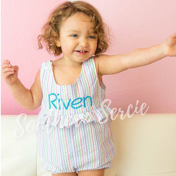 Girl's Sleeveless Romper
