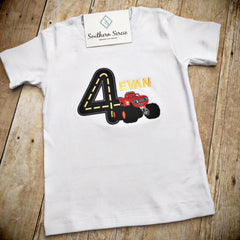Monster Truck Inspired Birthday Shirt