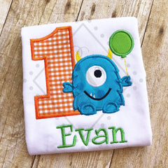 Monster Theme Birthday Shirt