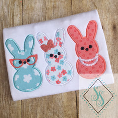 Miss Peeps Trio Applique