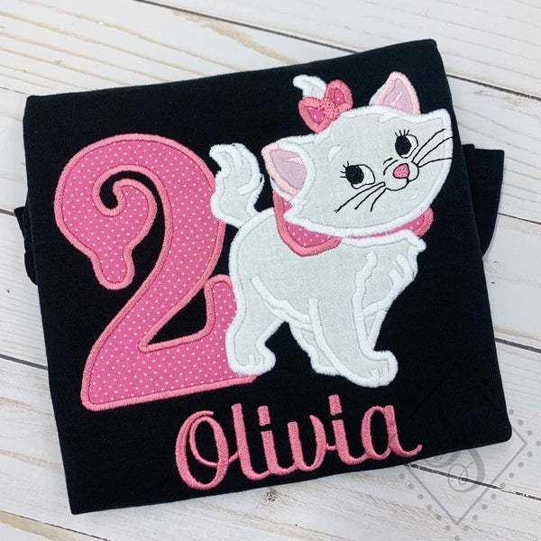 Cat Birthday Shirt