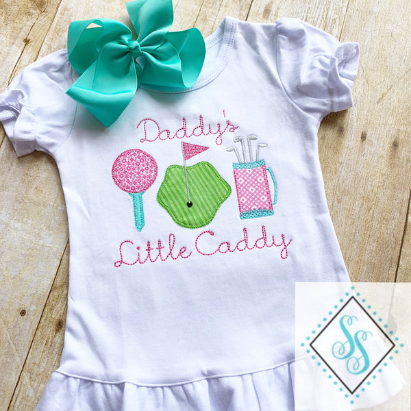 Daddy's Little Caddy - Applique