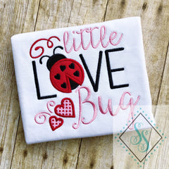 Little Love Bug Applique