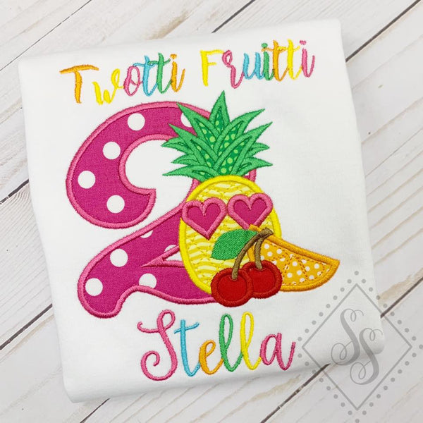 Twottie Fruitti Birthday Shirt