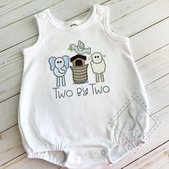 Two By Two Applique