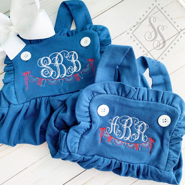 Patriotic Swag w/ Monogram