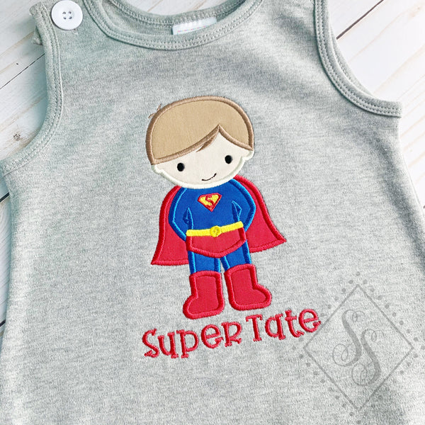 Super Boy Applique