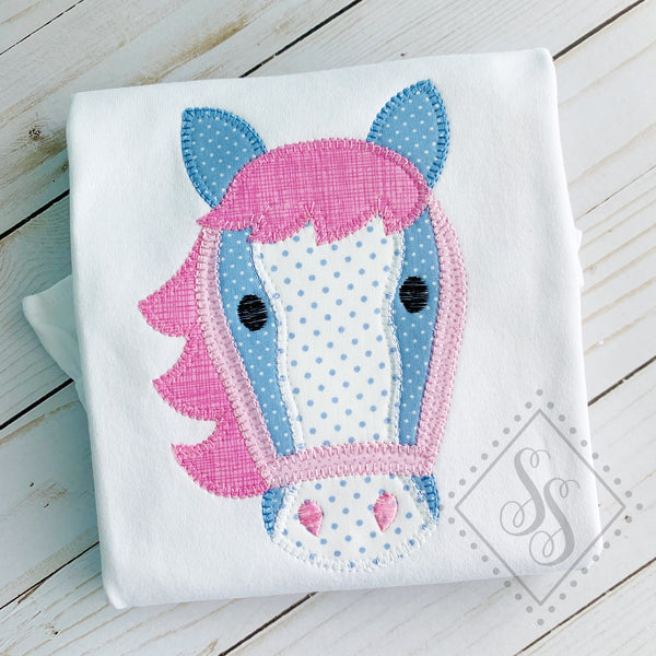 Horse Head Applique