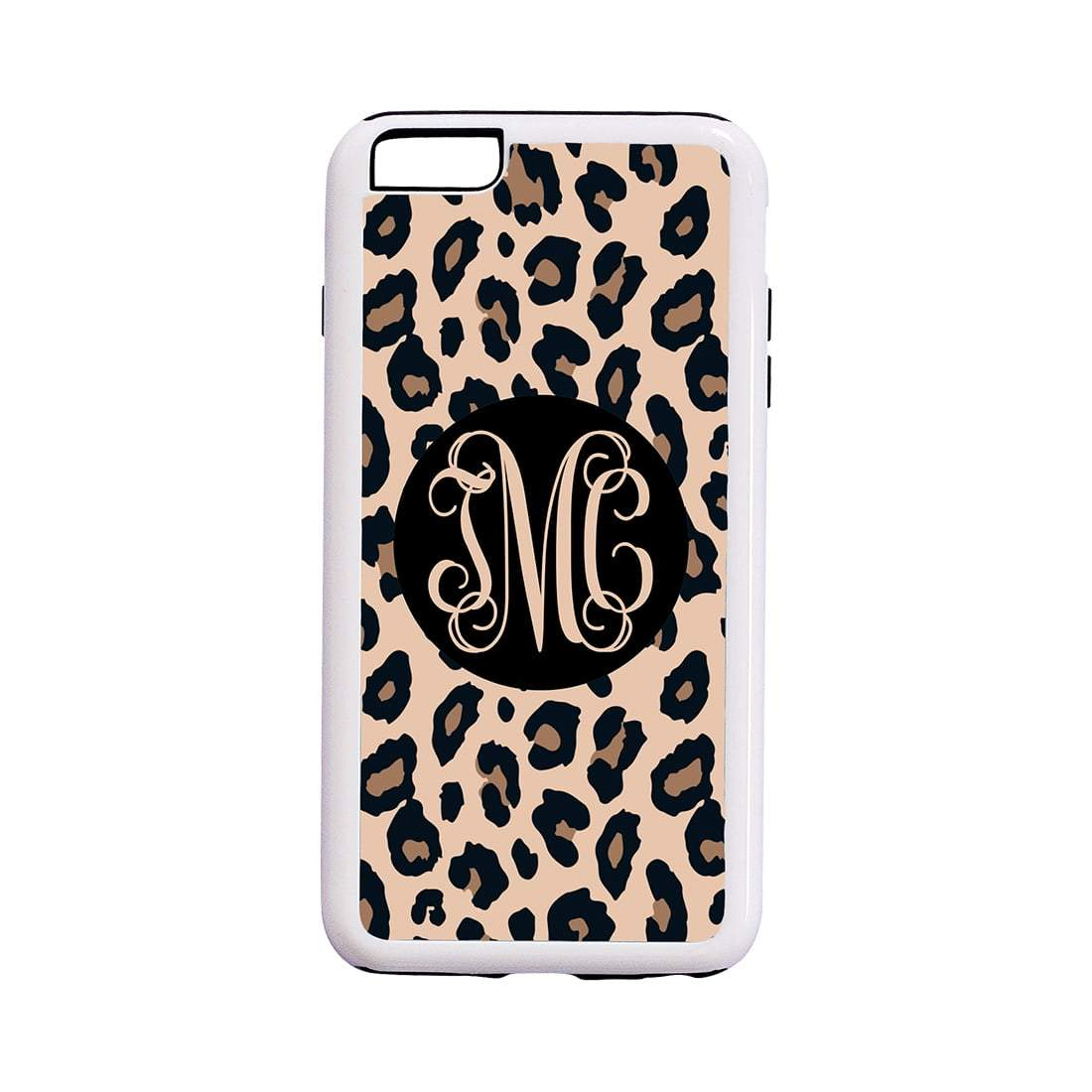 Leopard with Black iPhone 6/6S Plus Phone Case