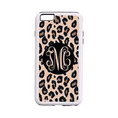 Leopard with Black iPhone 6/6S Phone Case