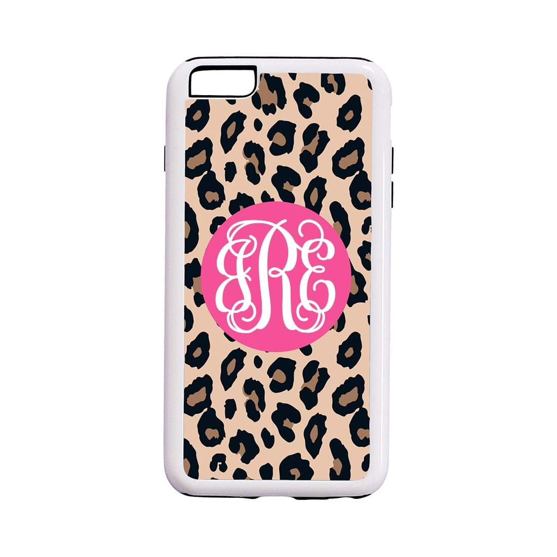 Leopard with Pink iPhone 6/6S Phone Case