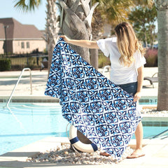 Sea Glass Towel