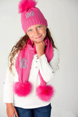 Hot Pink Bella Kids' Scarf