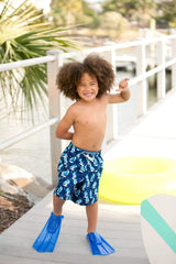 Sea Breeze Boy's Swim Trunks