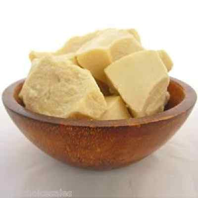Pure, unrefined cocoa butter