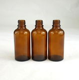 50ml amber glass dropper bottles