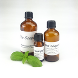 Basil essential oil 100% pure and natural