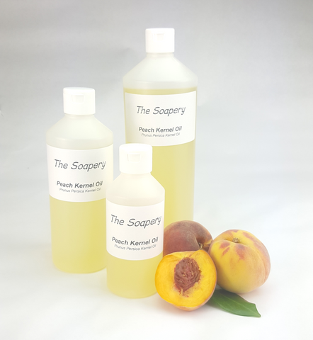 Peach kernel oil carrier oil for skin treatment and massage