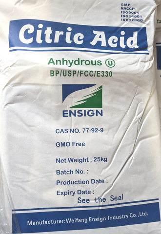 Citric Acid and Bicarbonate of Soda Bulk Deals