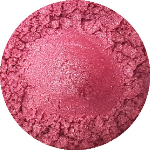 Cool pink cosmetic mica powder